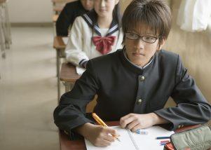 授業中の生徒